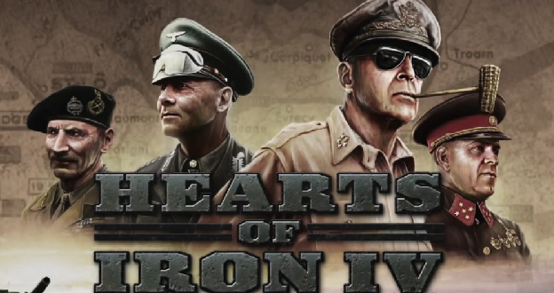 Hearts of Iron IV Review - Logo