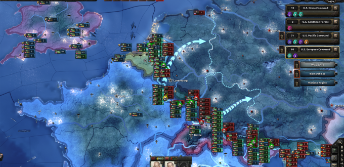 The Liberators - Hearts of Iron IV AAR - The Push