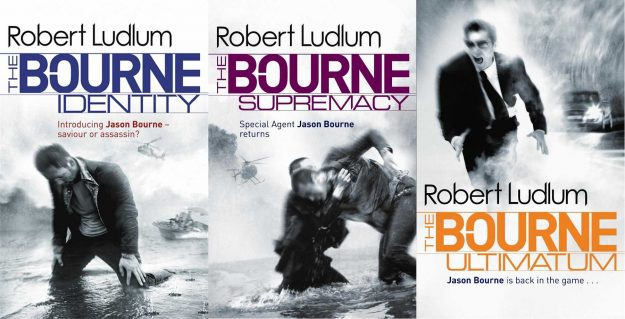 Writing Advice - Books - The Bourne Trilogy