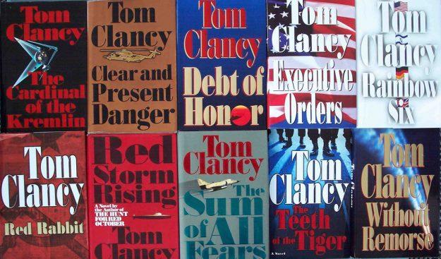 Books - Writing Advice - Tom Clancy