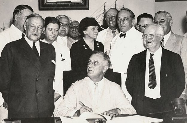 Franklin D. Roosevelt, FDR, New Deal, Social Security Act