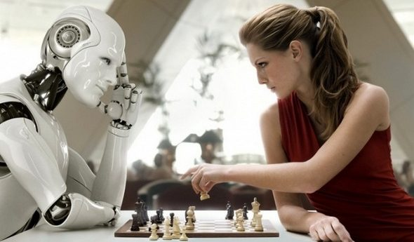 Human vs. Robot - Chess - Franz Steiner - Creative Commons BY-SA 4.0