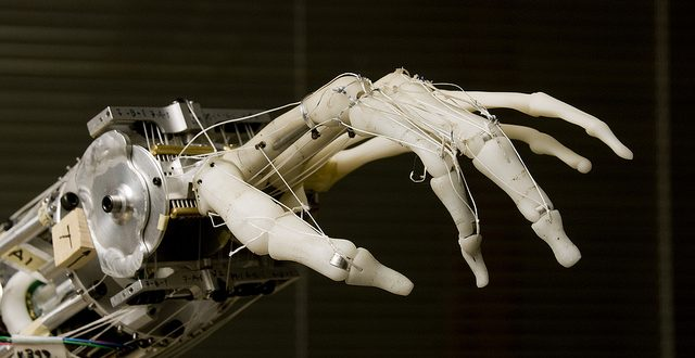 robot hand, artificial intelligence, AI