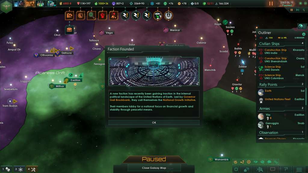 Stellaris: Utopia - Faction System