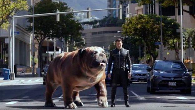 Marvel's Inhumans - Lockjaw and Black Bolt
