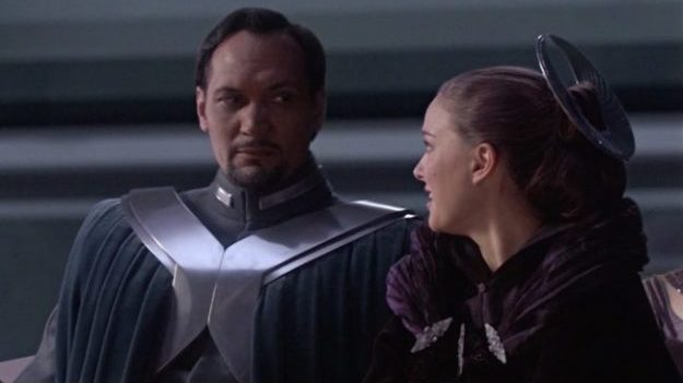 Star Wars: Episode III - Revenge of the Sith - Bail Organa and Padme Amidala