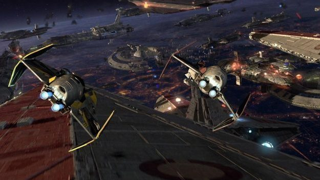 Star Wars: Episode III - Revenge of the Sith - Battle of Coruscant