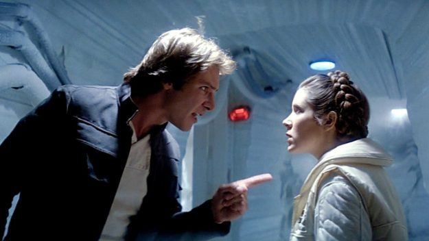 Star Wars: Episode V - The Empire Strikes Back - Han and Leia