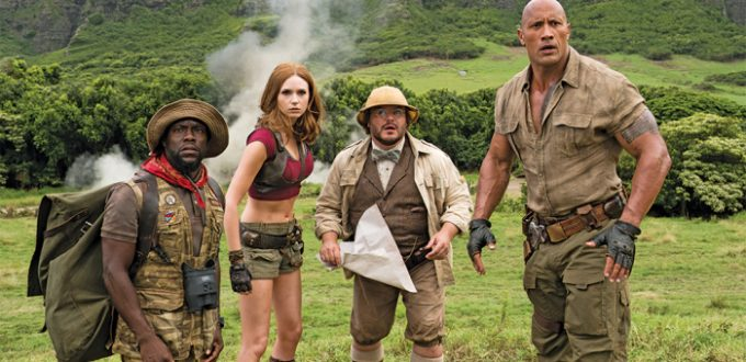 Jumanji: Welcome To The Jungle - Cast