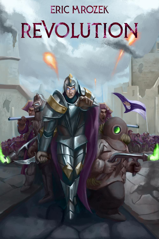 Revolution (Maereath: The War of the Democratic Coalition, #3) - M-Cover