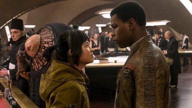 Star Wars: The Last Jedi - Finn and Rose Tico