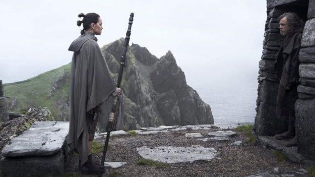Star Wars: The Last Jedi - Luke and Rey