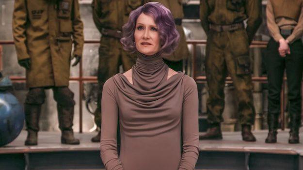Star Wars: The Last Jedi - Vice Admiral Lesbian Dance Theory