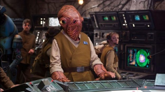 Star Wars: The Last Jedi - Admiral Ackbar