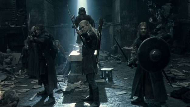 The Oscars - The Lord of the Rings: The Fellowship of the Ring - Moria Battle